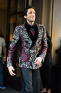 Adrien Brody in Ralph Lauren Purple Label at the Met Ball 2015