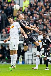 16.04.2016, Millerntor, Hamburg, GER, 2. FBL, FC St. Pauli vs VfL Bochum, 30. Runde, im Bild Sebastian Maier (Nr. 29, FC St. Pauli) gegen Anthony Losilla (Nr. 8, VfL Bochum). // during the 2nd German Bundesliga 30th round match between FC St. Pauli and VfL Bochum at the Millerntor in Hamburg, Germany on 2016/04/16. EXPA Pictures © 2016, PhotoCredit: EXPA/ Eibner-Pressefoto/ Koenig<br /> <br /> *****ATTENTION - OUT of GER*****