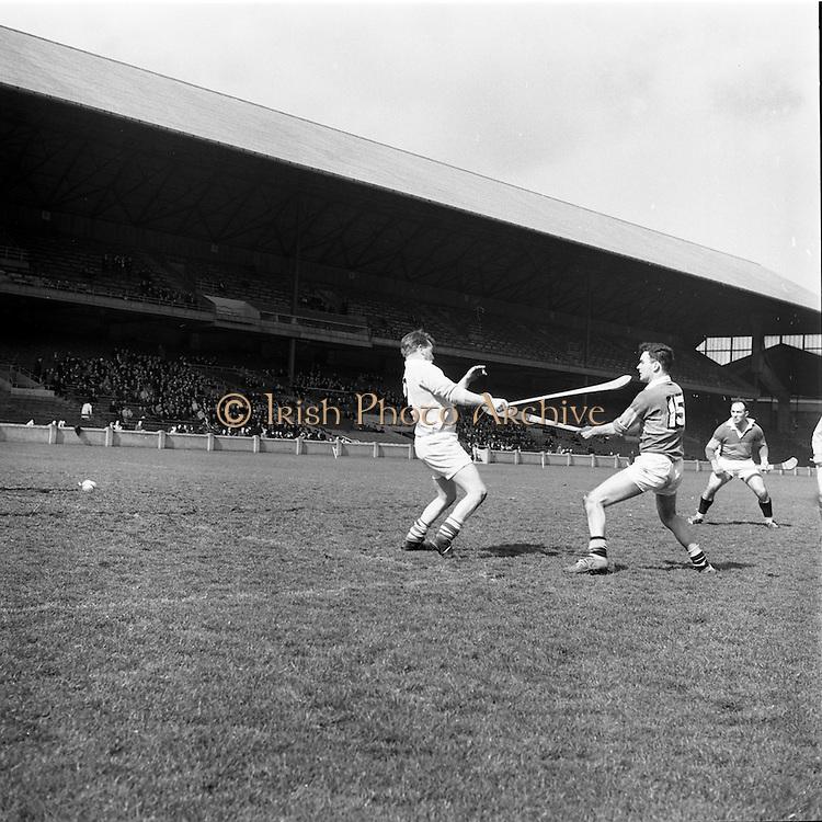 02/04/1967<br /> 04/02/1967<br /> 2 April 1967<br /> National Hurling League Semi-Final: Antrim v Kerry at Croke Park, Dublin.