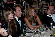 MISCHA BARTON; DAMIAN ASPINALL; ELLE MACPHERSON, The Ormeley dinner in aid of the Ecology Trust and the Aspinall Foundation. Ormeley Lodge. Richmond. London. 29 April 2009