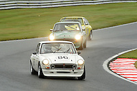 #86 Neil Fowler MGB GT V8 during the MGCC Thoroughbred Sportscar Championship at Oulton Park, Little Budworth, Cheshire, United Kingdom. September 03 2016. World Copyright Peter Taylor/PSP.