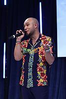 Jax Jones on stage during O2 Silver Clef Awards 2019, Grosvenor House, London, UK, Friday 05 July 2019<br /> Photo JM Enternational