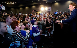 Dean Phillips (D-Minn.) addresses supporters at his election night headquarters at the Hilton Bloomington on Tuesday, November 6, 2018, in Bloomington, Minn. Photo by Carlos Gonzalez/Minneapolis Star Tribune/TNS/ABACAPRESS.COM