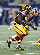 Washington Redskins outside linebacker Brian Orakpo (98) chases the action during the NFL week 6 football game against the Dallas Cowboys on Sunday, Oct. 13, 2013 in Arlington, Texas. The Cowboys won the game 31-16. ©Paul Anthony Spinelli
