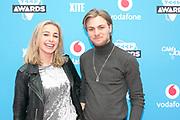 2018-03-24. Club Panama, Amsterdam. Veed Awards 2018. Op de foto: Iris Enthoven en Rijk Hofman