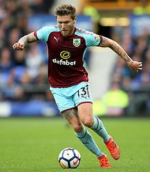 Jeff Hendrick of Burnley - Mandatory by-line: Matt McNulty/JMP - 01/10/2017 - FOOTBALL - Goodison Park - Liverpool, England - Everton v Burnley - Premier League