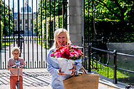 THE HAGUE - Ellen Joosten will bring flowers to Paleis Huis Ten Bosch for the 49th birthday of Queen Maxima Flowers for Queen Máxima