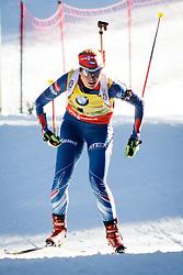 Gabriela Soukalova (CZE) competes during Women 10 km Pursuit at day 3 of IBU Biathlon World Cup 2015/16 Pokljuka, on December 19, 2015 in Rudno polje, Pokljuka, Slovenia. Photo by Ziga Zupan / Sportida