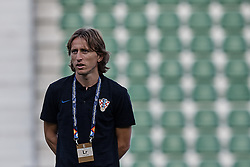September 11, 2018 - Alicante, Alicante, Spain - Luka Modric of Croatia looks on prior to the UEFA Nations League A group four match between Spain and Croatia at Martinez Valero  on September 11, 2018 in Elche, Spain  (Credit Image: © David Aliaga/NurPhoto/ZUMA Press)