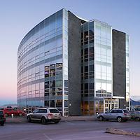 Hús atvinnulífsins.Office building at Borgartun, Reykjavik.
