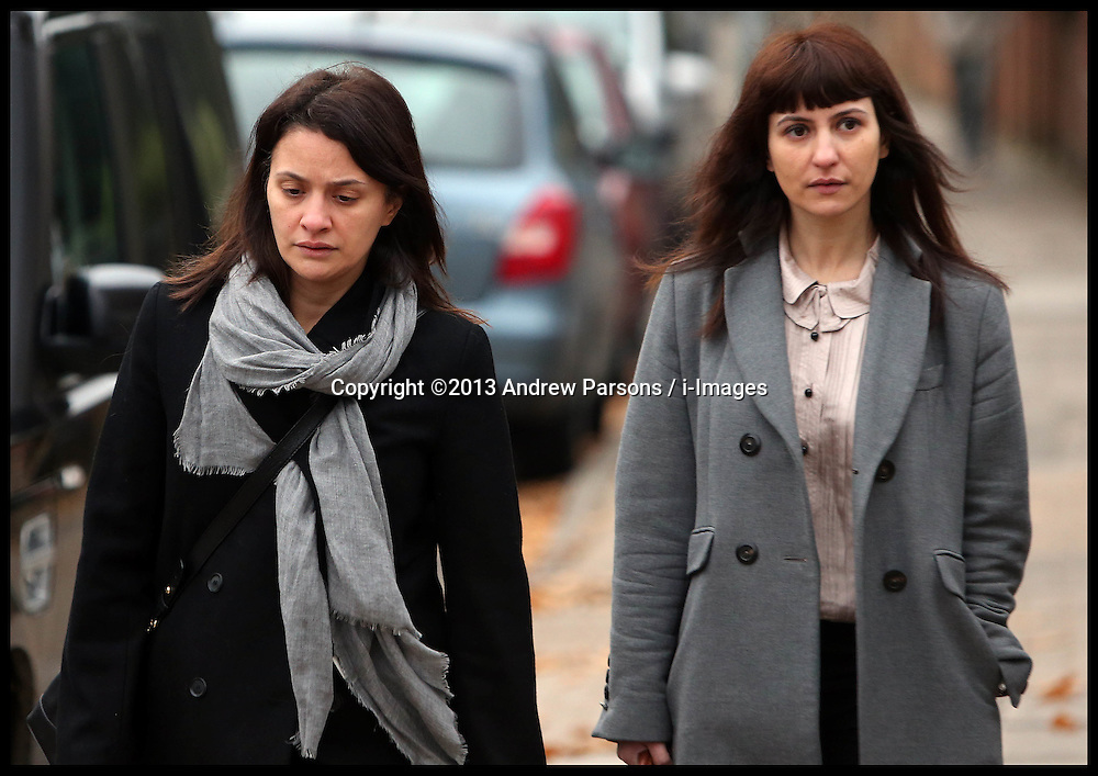 Italian sisters Elisabetta (left) and Francesca Grillo (right, Grey Coat)arrive at Isleworth Crown Court<br /> The TV Chef Nigella Lawson will today give evidence at Isleworth Crown Court. London, United Kingdom. Wednesday, 4th December 2013. The TV chef is expected to give evidence today at the trial for Francesca and Elisabetta Grillo, who appear charged with fraud after allegedly using a company credit card to defraud the TV chef and her former husband out of £300,000. Picture by Andrew Parsons / i-Images<br /> File Photo  - Nigella Lawson and Charles Saatchi PAs cleared of fraud. The trial of Francesca Grillo, 35, and sister Elisabetta, 41, heard they spent £685,000 on credit cards owned by the TV cook and ex-husband Charles Saatchi.<br /> Photo filed Monday 23rd December 2013