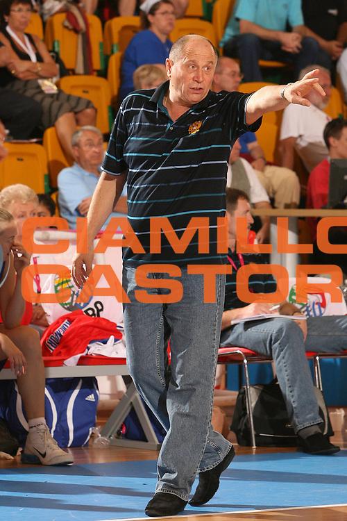 DESCRIZIONE : Chieti Italy Italia Eurobasket Women 2007 Grecia Russia Greece Russia <br /> GIOCATORE : Igor Grudin <br /> SQUADRA : Russia <br /> EVENTO : Eurobasket Women 2007 Campionati Europei Donne 2007<br /> GARA : Grecia Russia Greece Russia <br /> DATA : 26/09/2007 <br /> CATEGORIA : Ritratto <br /> SPORT : Pallacanestro <br /> AUTORE : Agenzia Ciamillo-Castoria/E.Castoria <br /> Galleria : Eurobasket Women 2007 <br /> Fotonotizia : Chieti Italy Italia Eurobasket Women 2007 Grecia Russia Greece Russia <br /> Predefinita :