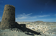 Old watchtower in Al Quabil, Oman