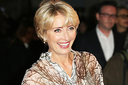 © Licensed to London News Pictures. 20/10/2013, UK. Emma Thompson, The BFI London Film Festival: Saving Mr Banks - World Film Premiere, Odeon Leicester Square, London UK, 20 October 2013. Photo credit : Richard Goldschmidt/Piqtured/LNP