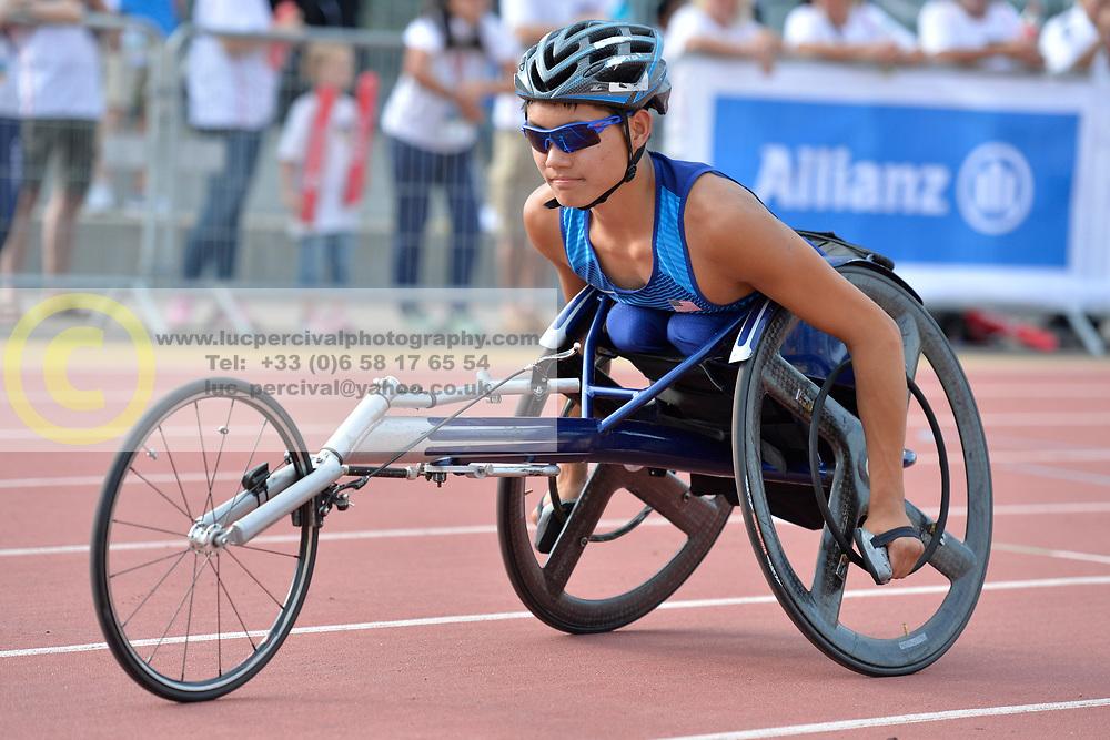 03/08/2017; Croft, Phillip, T53, USA at 2017 World Para Athletics Junior Championships, Nottwil, Switzerland