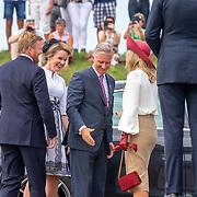 NLD/Terneuzen/20190831 - Start viering 75 jaar vrijheid, aankomst Willem-Alexander en Maxima en Koning Filip en partner Mathilde d'Udekem d'Acoz