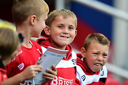 Young fans  - Mandatory by-line: Joe Meredith/JMP - 01/10/2016 - FOOTBALL - Ashton Gate Stadium - Bristol, England - Bristol City v Nottingham Forest - Sky Bet Championship