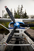 Cessna Float Plane, Tweedsmuir Air Services, Nimpo Lake, BC.