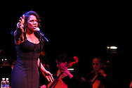 Audra McDonald performs during the 10th Anniversary Concert at the Schuster Center in downtown Dayton, Friday, March 1, 2013.