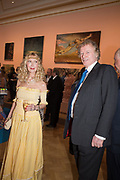 BASIA BRIGGS; RICHARD BRIGGS, Royal Academy Summer Exhibition party. Burlington House. Piccadilly. London. 6 June 2018