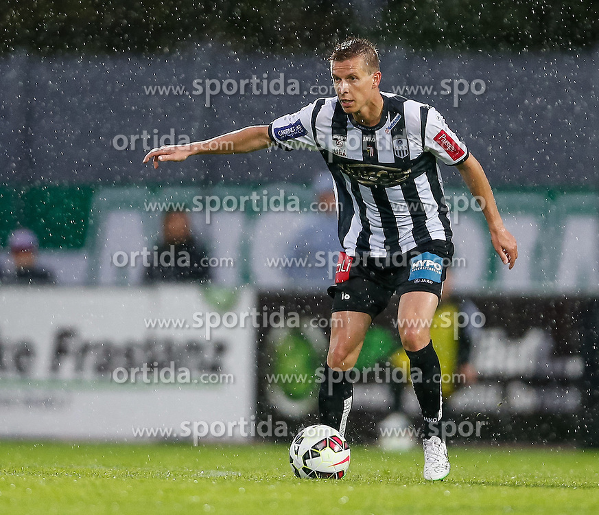 01.05.2015, Reichshofstadion, Lustenau, AUT, 2. FBL, SC Austria Lustenau vs LASK Linz 31. Runde, im Bild Thomas Hinum, (LASK Linz, #18)// during Austrian Second Bundesliga Football Match, 31th round, between SC Austria Lustenau vs LASK Linz at the Reichshofstadion, Lustenau, Austria on 2015/05/01. EXPA Pictures © 2015, PhotoCredit: EXPA/ Peter Rinderer