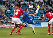 Gillingham v Swindon Town - EFL League 1 - 16/08/2016