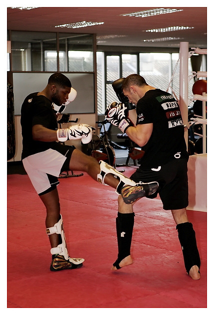 Paul Daley, workout. 19-01-2012