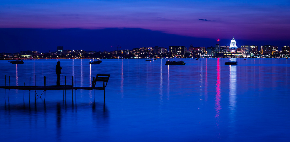 Skyline of Madison, Wis. (Photo © Andy Manis)