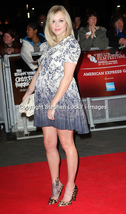 Fearne Cotton  arriving for the premiere of the Rolling Stones documentary film Crossfire Hurricane at the London Film Festival, Thursday, 18th October 2012. Photo by: Stephen Lock / i-Images