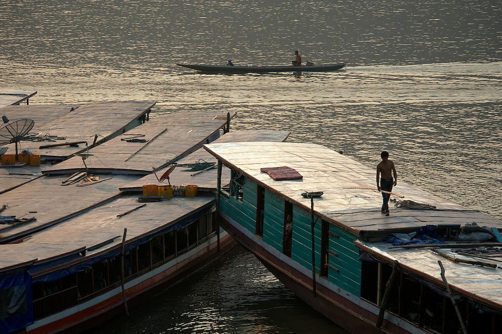 Luang Prabang, Mekong River, Laos