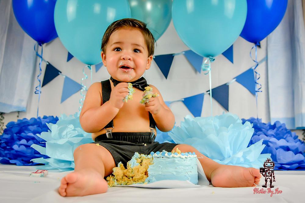 Baby Gianni's Cake Smash Session