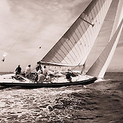 12 Meter Class Northern Light racing at the Opera House Cup