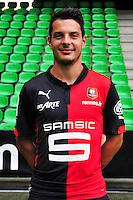 Philipp HOSINER - 15.09.2014 - Photo officielle Rennes - Ligue 1 2014/2015<br /> Photo : Philippe Le Brech / Icon Sport