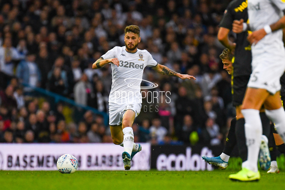Leeds United midfielder Mateusz Klich (43) in action during the EFL Sky Bet Championship match between Leeds United and Brentford at Elland Road, Leeds, England on 21 August 2019.