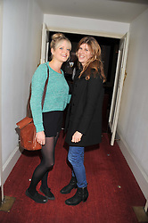 Left to right, LADY ELOISE ANSON and KATIE ELLIOT at the Grand Classics screening of American Pie in association with Grey Goose vodka celebrating 100 years of Universal Pictures' Greatest films held at the Electric Cinema, Portobello Road, London on 30th April 2012.