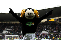 Sammie the Derby County mascot celebrates his sides win - Mandatory byline: Robbie Stephenson/JMP - 07966 386802 - 18/10/2015 - FOOTBALL - iPro Stadium - Derby, England - Derby County v Wolverhampton Wanderers - Sky Bet Championship