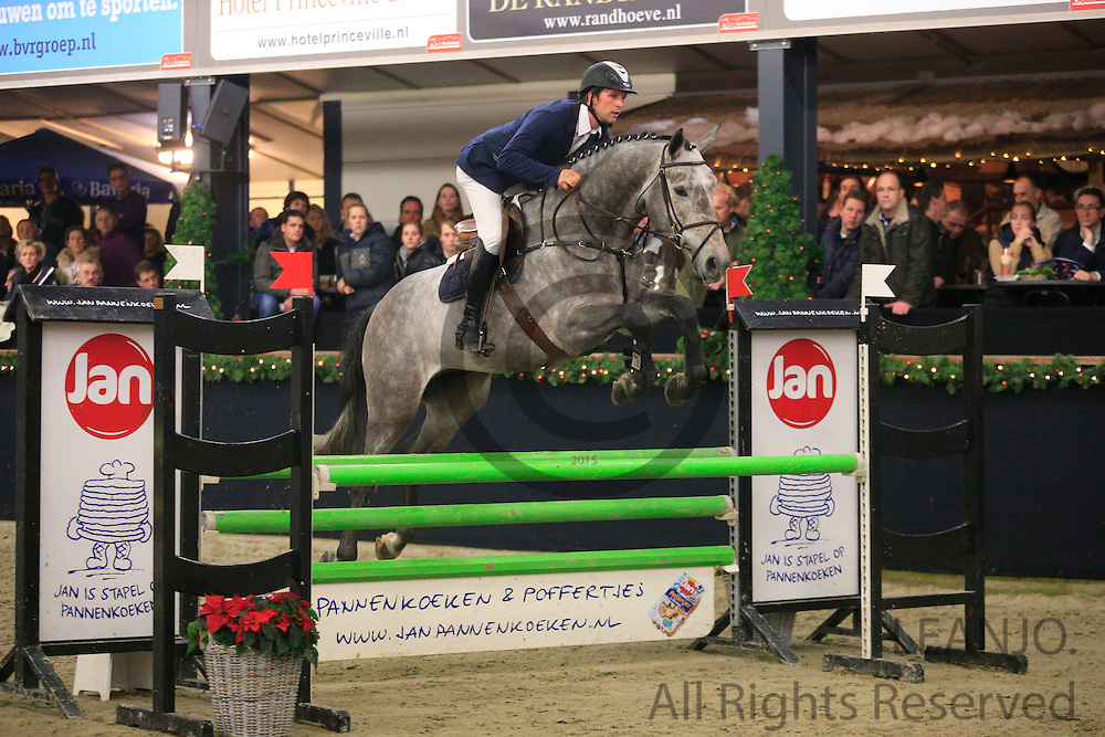 Nick Vrins - If Ever III<br /> KNHS/KWPN GMB Hengstencompetitie Roosendaal 2012<br /> © DigiShots