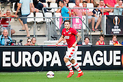 ALKMAAR - 15-09-2016, AZ - Dundalk FC, AFAS Stadion, 1-1, AZ speler Mattias Johansson
