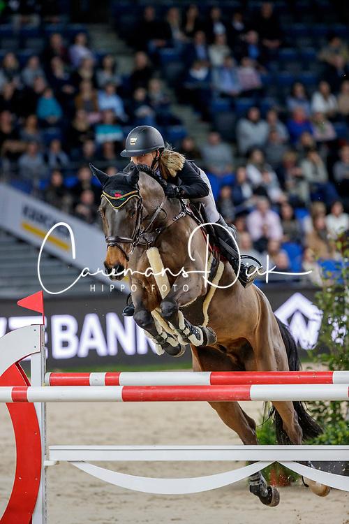 Bormann Finja, GER, A Crazy Son of Lavina<br /> Prize of Firma XXL Sicherheit <br /> Stuttgart 2019<br /> © Hippo Foto - Stefan Lafrentz