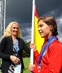 24-08-2014 NED: Medtronic Junior Cup Diabetes, Arnhem<br /> Anita Treiber, Medtronic, Spain