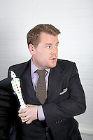 James Corden - BRIT Awards promo images.Wednesday, 30th Jan, 2013 (Photo/John Marshall JME)