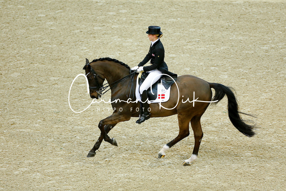 Kirk Thinggaard Agnete, (DEN), JoJo AZ<br /> Grand Prix Freestyle<br /> Reem Acra FEI World Cup Dressage Final II<br /> © Dirk Caremans