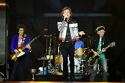 The Rolling Stones perform at the London Stadium in London. PRESS ASSOCIATION Photo. Picture date: Tuesday May 22, 2018. Photo credit should read: Ian West/PA Wire