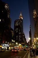 21 NOV 2003, NEW YORK/USA:<br /> Strasse und Hochhaeuser bei Nacht, Manhatten, New York<br /> IMAGE: 20031121-02-064<br /> KEYWORDS: Nachts, Wolkenkratzer, Nachtaufnahme