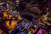 Paris & Bellagio Hotels, Las Vegas Boulevard