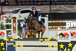 Schlusselburg Sven, GER, Whitney<br /> Stuttgart - German Masters 2019<br /> © Hippo Foto - Stefan Lafrentz<br /> 14/11/2019