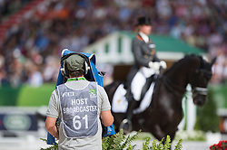 Morgan Barbancon Mestre, (ESP), Painted Black - Freestyle Grand Prix Dressage - Alltech FEI World Equestrian Games™ 2014 - Normandy, France.<br /> © Hippo Foto Team - Jon Stroud<br /> 25/06/14