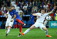 Dimitri Payet France scoring the goal of 2-0<br />  Gol Marseille 15-06-2016 Stade Velodrome Footballl Euro2016 France - Albania  / Francia - Albania Group Stage Group A. Foto Matteo Ciambelli / Insidefoto
