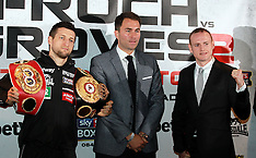 MAY 29 2014 Froch v Groves boxing press conference