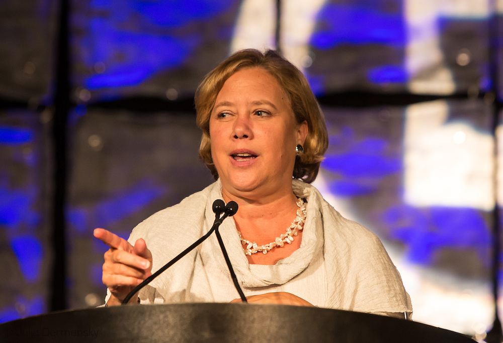 Mary Landrieu, former U.S. Louisiana Democratic Senator at the Jefferson-Jackson Dinner, an annual Democraitc fundraiser in New Orleans .